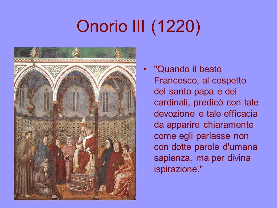 Onorio III (1220)