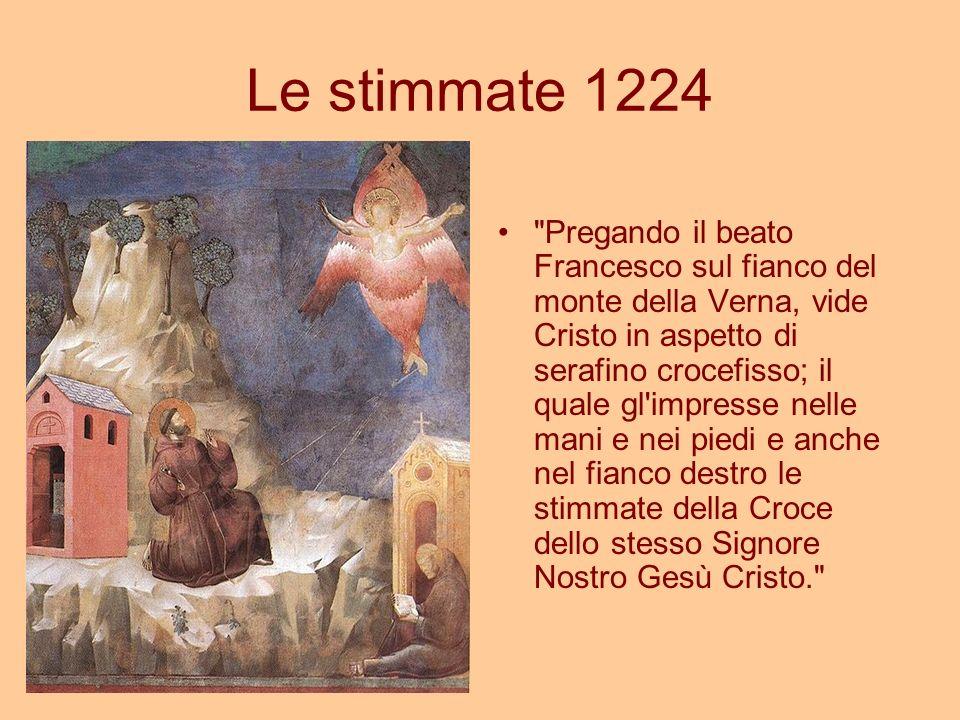 Le stimmate 1224
