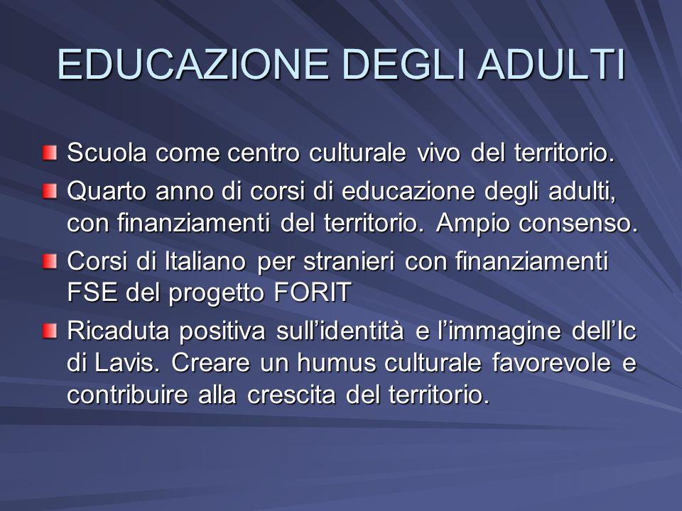 EDUCAZIONE DEGLI ADULTI