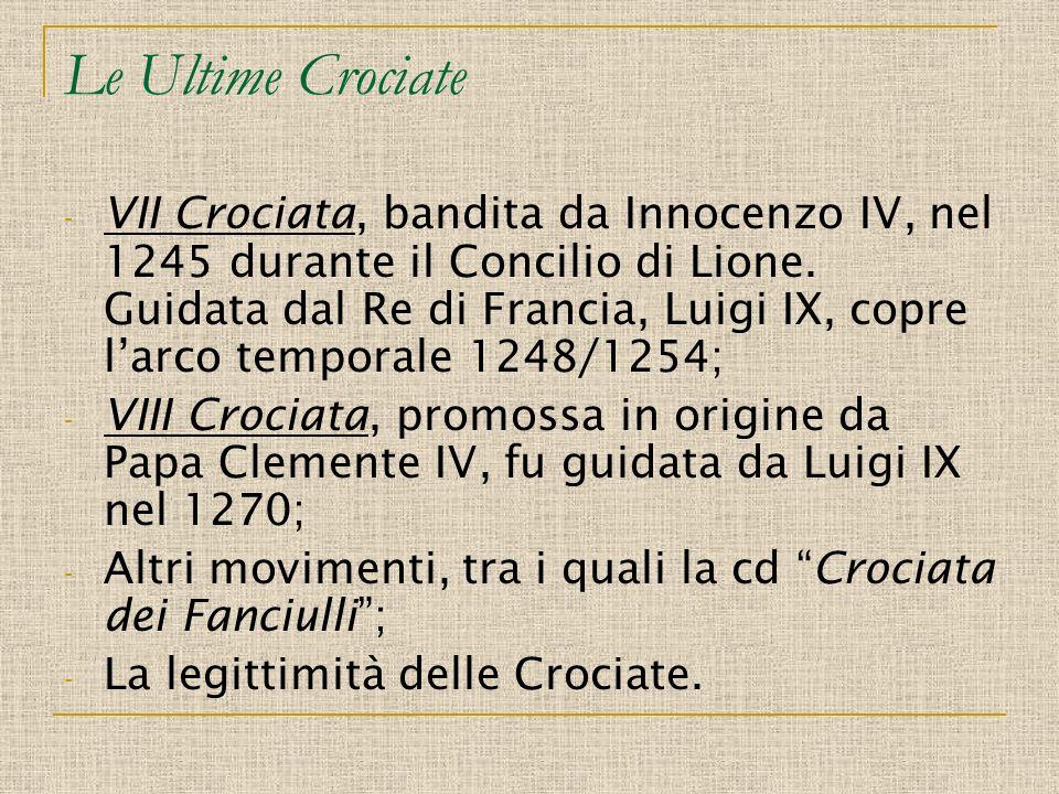 Le Ultime Crociate