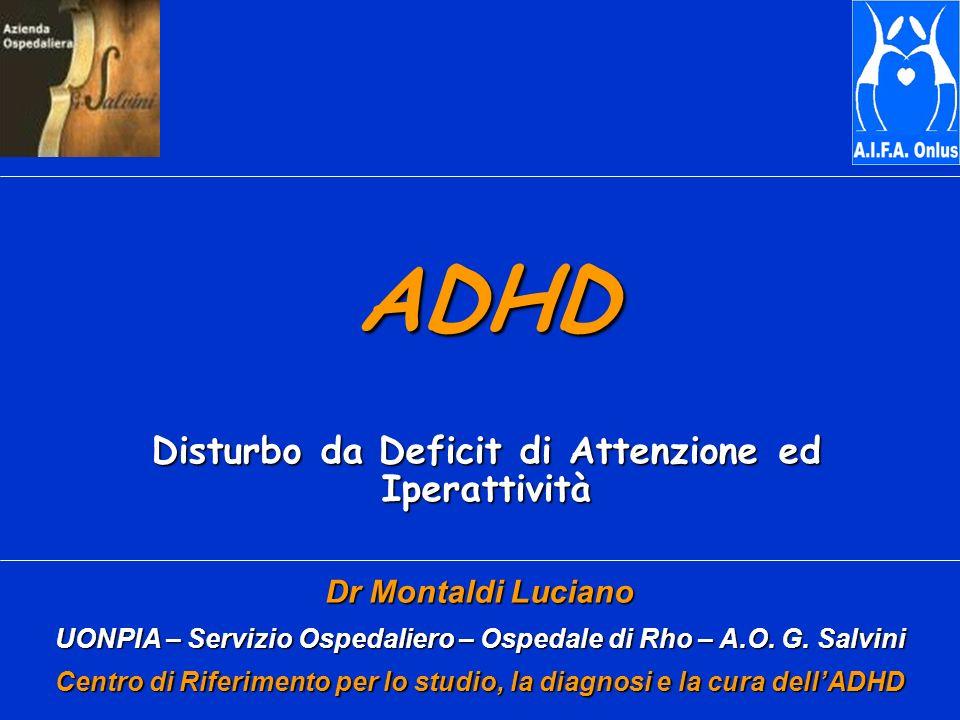 ADHD Disturbo da Deficit di Attenzione ed Iperattività