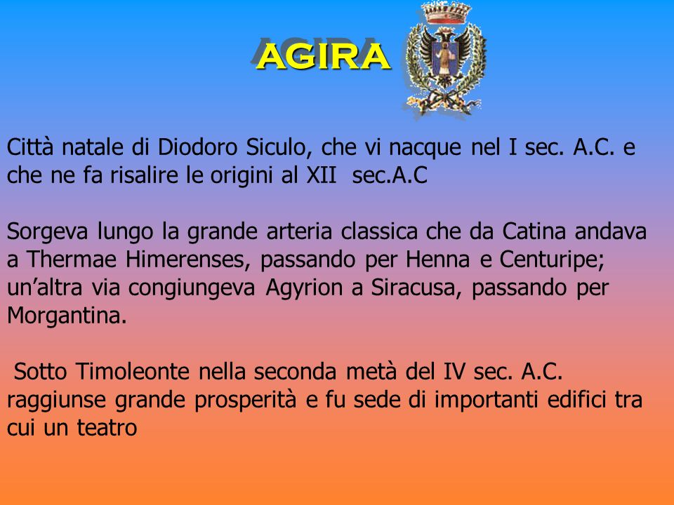 AGIRA