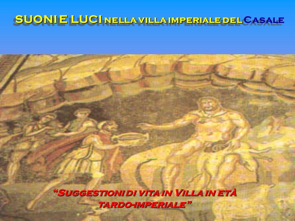 SUONI E LUCI nella villa imperiale del Casale