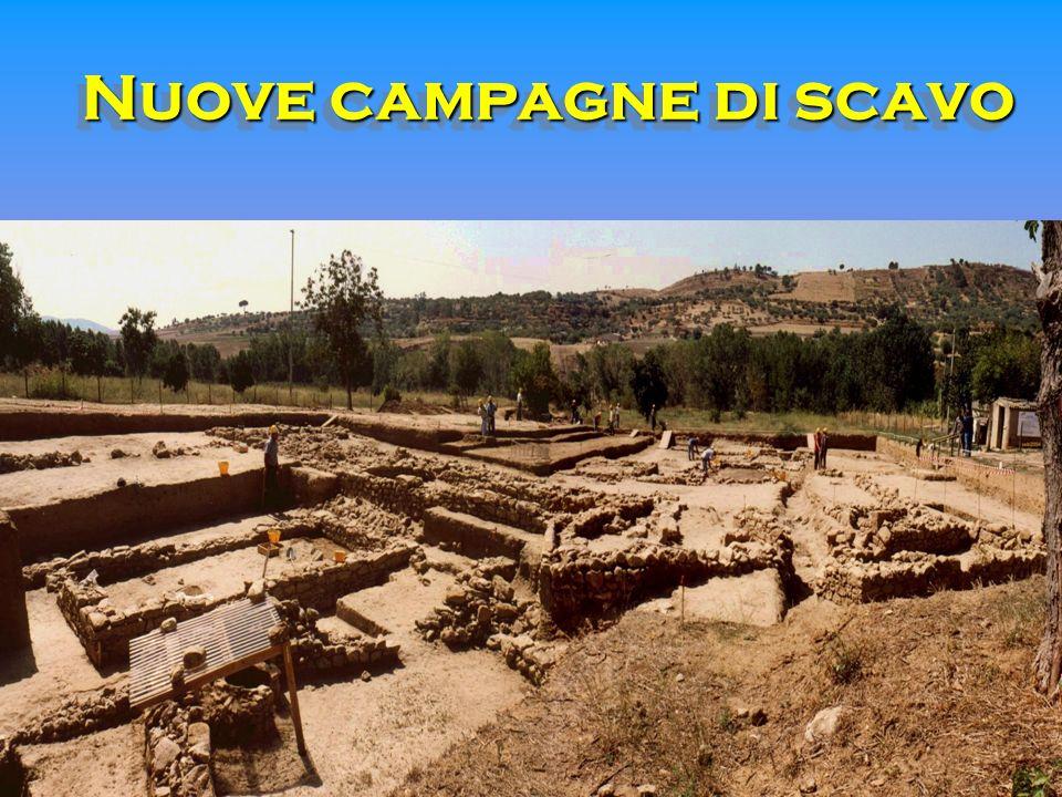 Nuove campagne di scavo