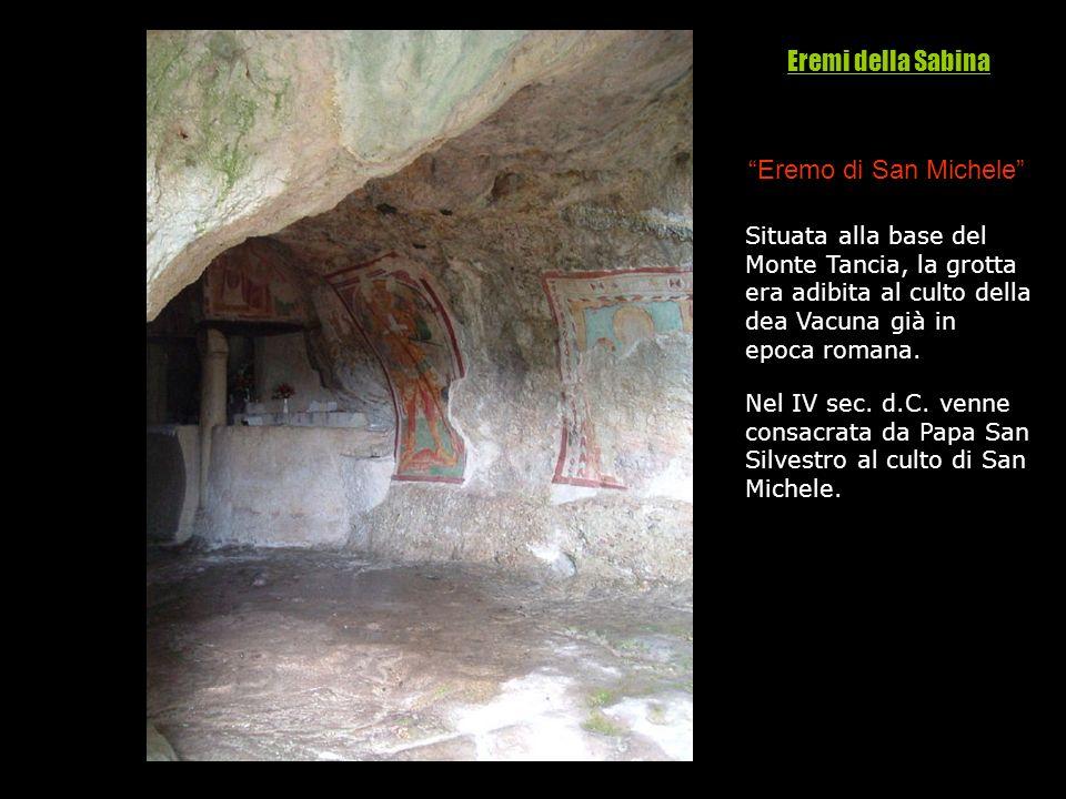 Eremi della Sabina Eremo di San Michele And/m