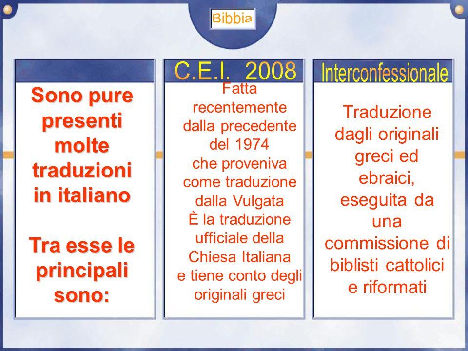Bibbia C.E.I. 2008 Interconfessionale