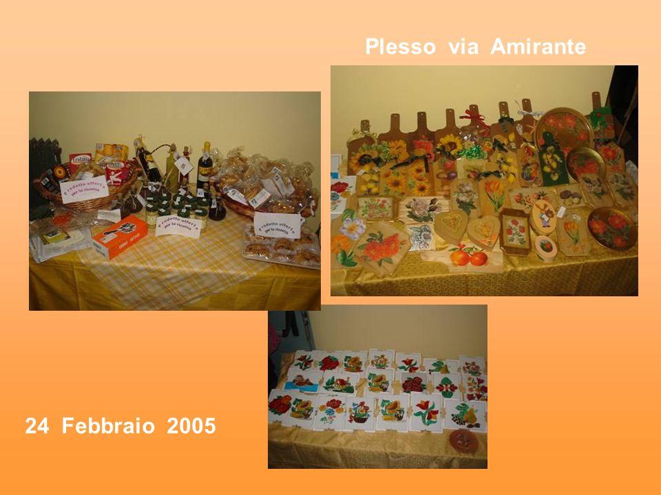 Plesso via Amirante 24 Febbraio 2005