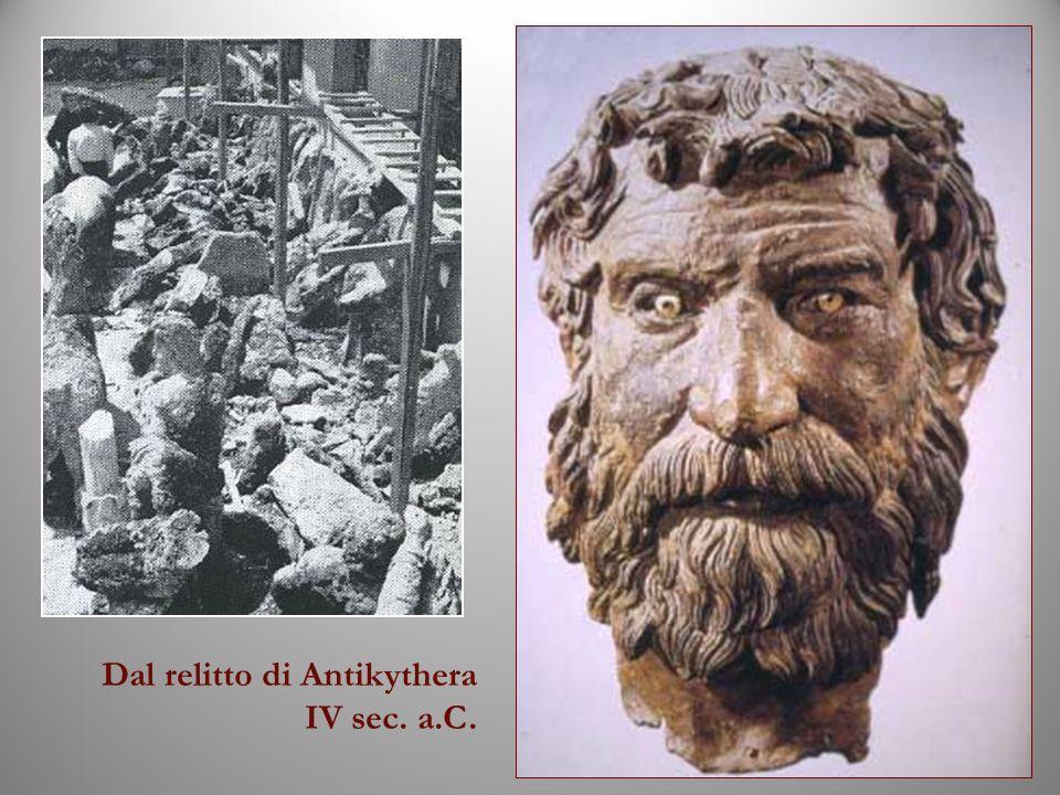 Dal relitto di Antikythera