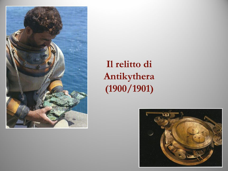 Il relitto di Antikythera