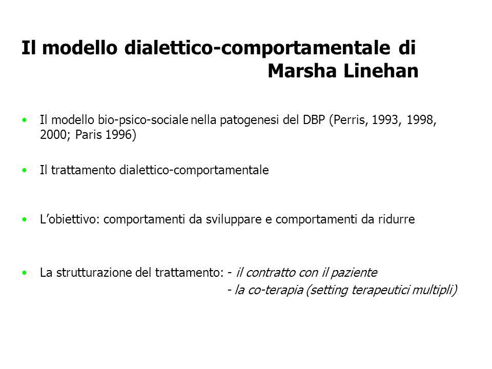 Il modello dialettico-comportamentale di Marsha Linehan
