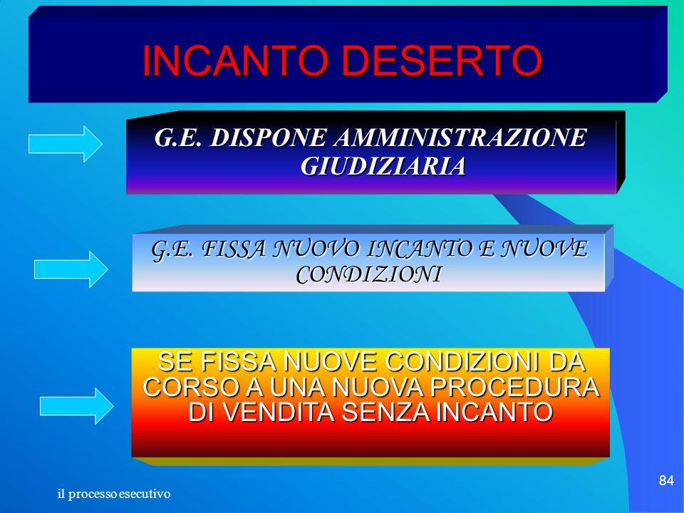 G.E. DISPONE AMMINISTRAZIONE GIUDIZIARIA