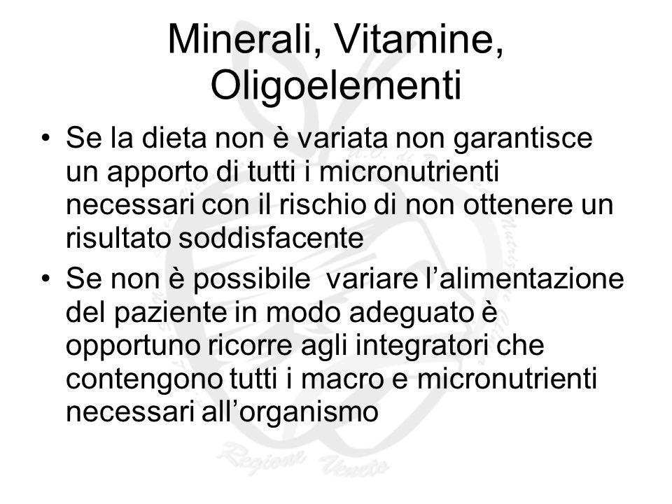 Minerali, Vitamine, Oligoelementi