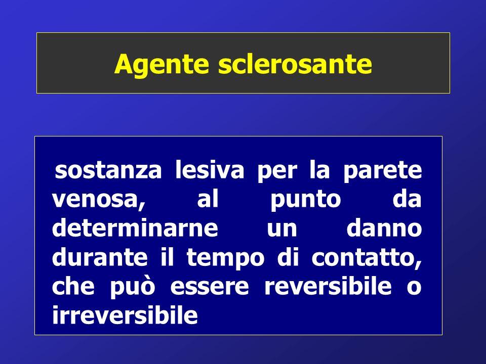 Agente sclerosante