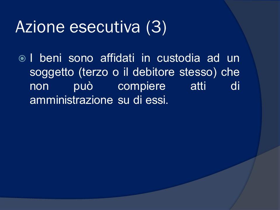 Azione esecutiva (3)