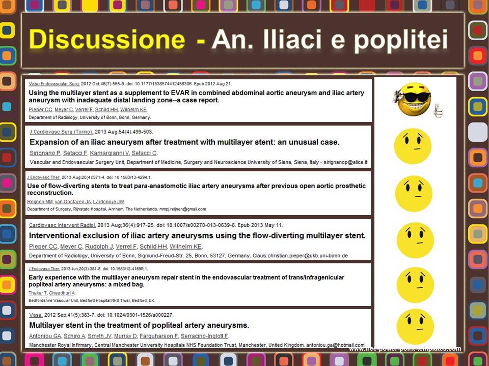Discussione - An. Iliaci e poplitei