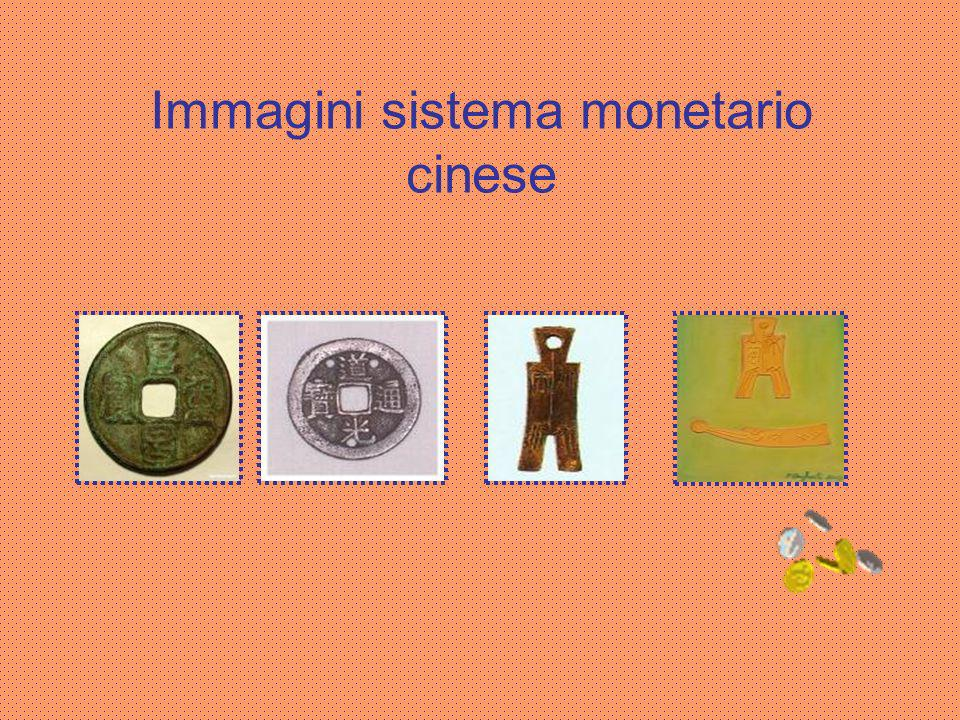 Immagini sistema monetario cinese