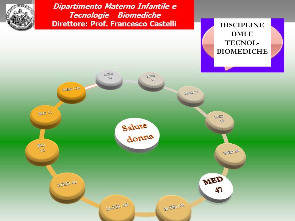 Dipartimento Materno Infantile e Tecnologie Biomediche