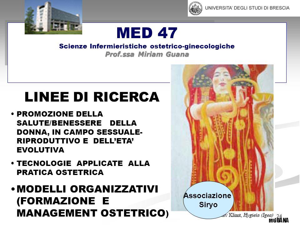 Scienze Infermieristiche ostetrico-ginecologiche
