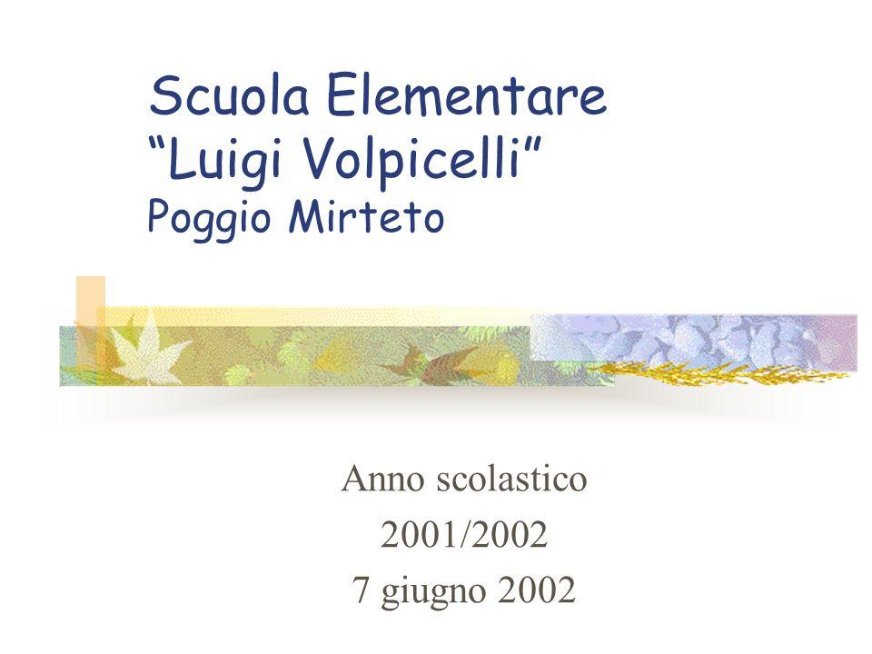 Scuola Elementare Luigi Volpicelli Poggio Mirteto