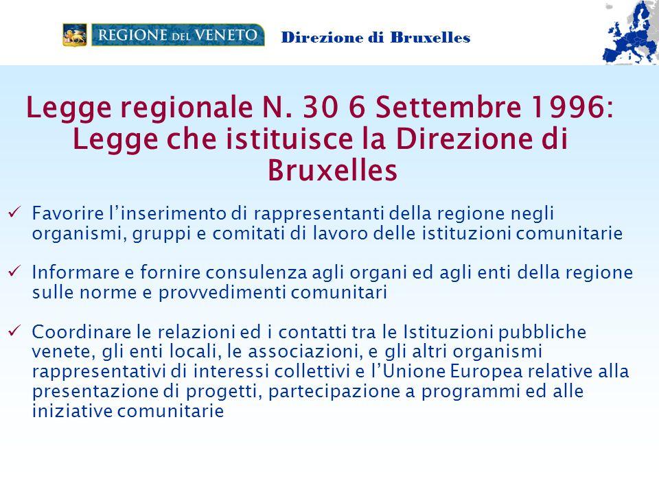 Legge regionale N. 30 6 Settembre 1996: