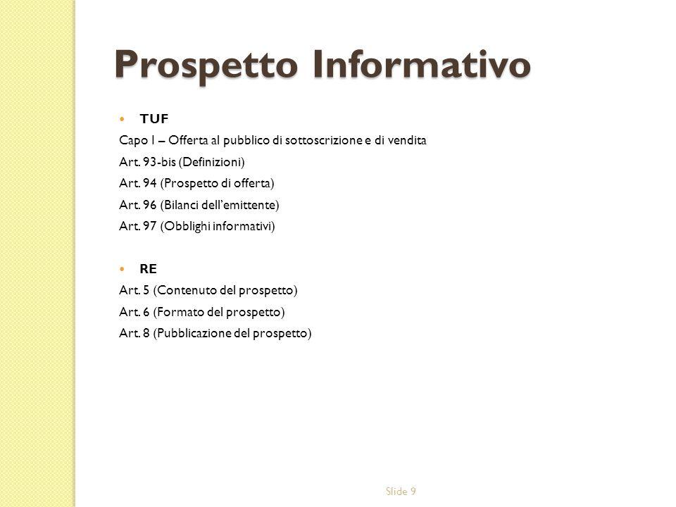 Prospetto Informativo