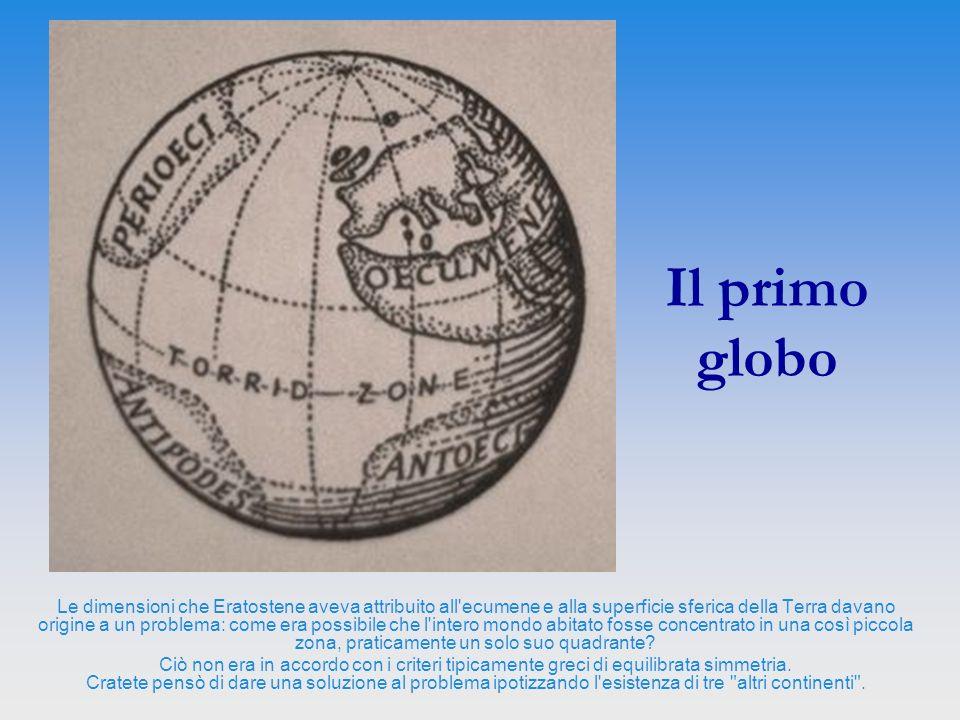 Il primo globo
