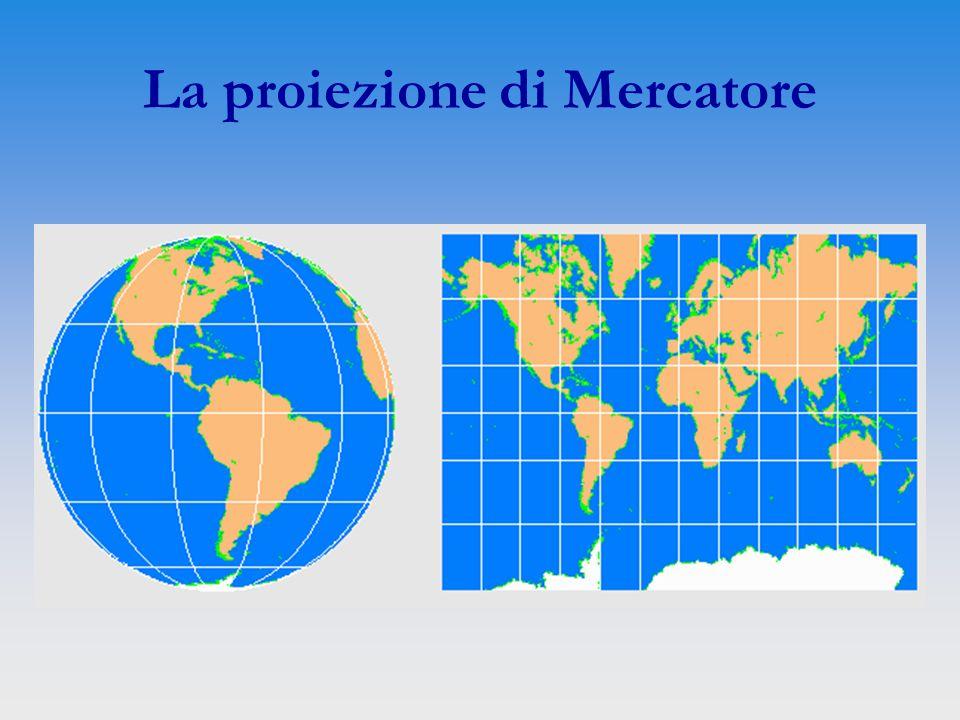 La proiezione di Mercatore