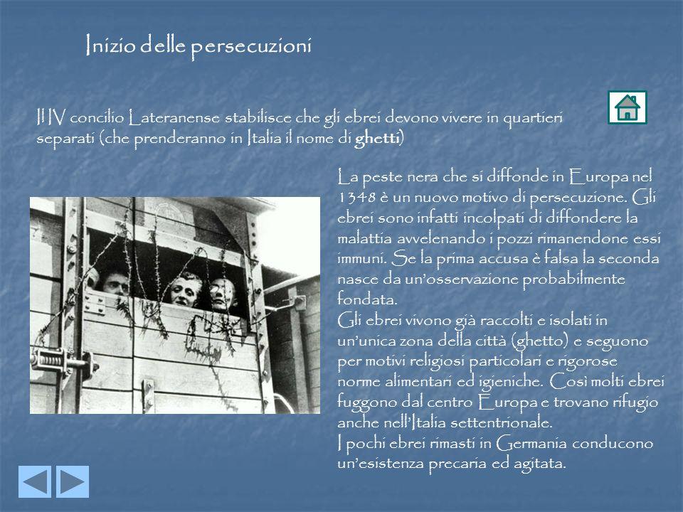 Inizio delle persecuzioni