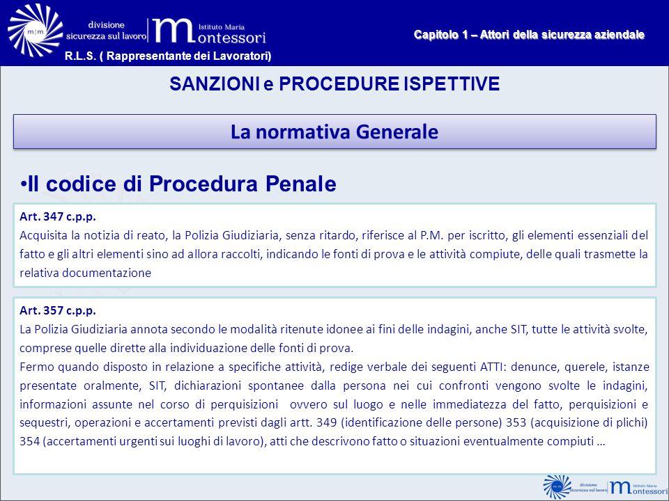 Il codice di Procedura Penale