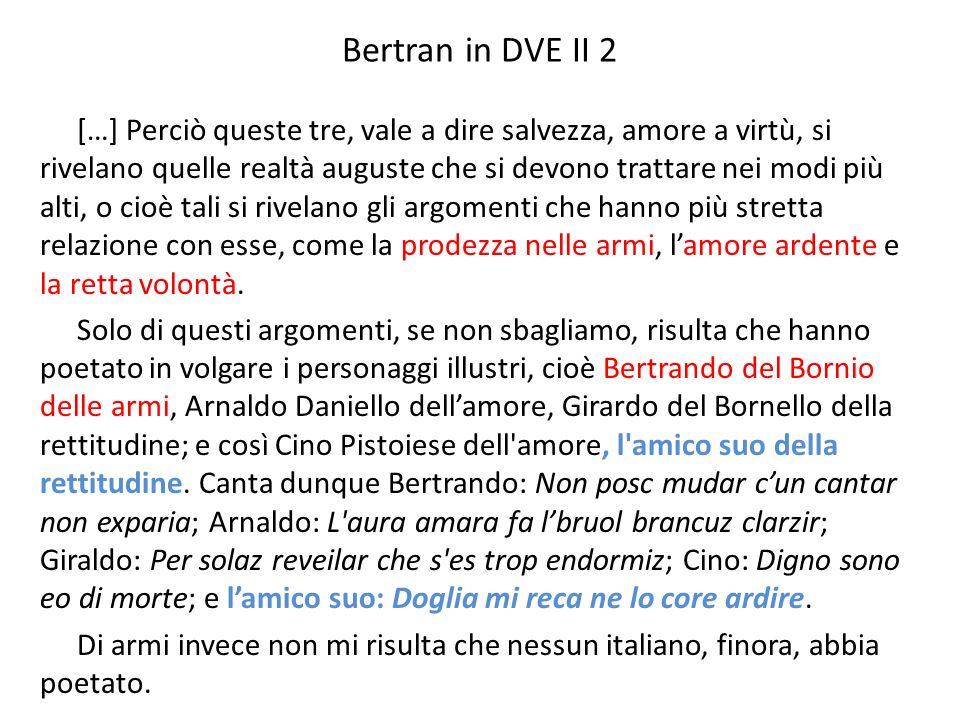 Bertran in DVE II 2
