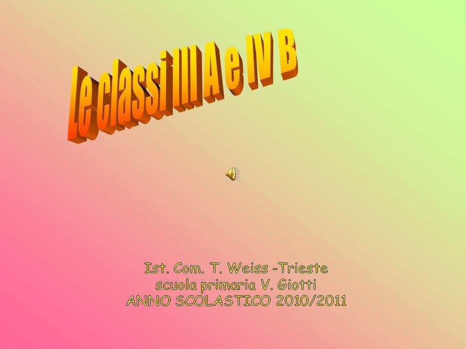 Le classi III A e IV B Ist. Com. T. Weiss -Trieste