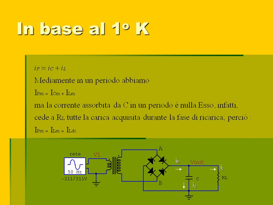 In base al 1o K iP iL iC