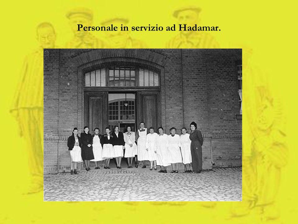 Personale in servizio ad Hadamar.