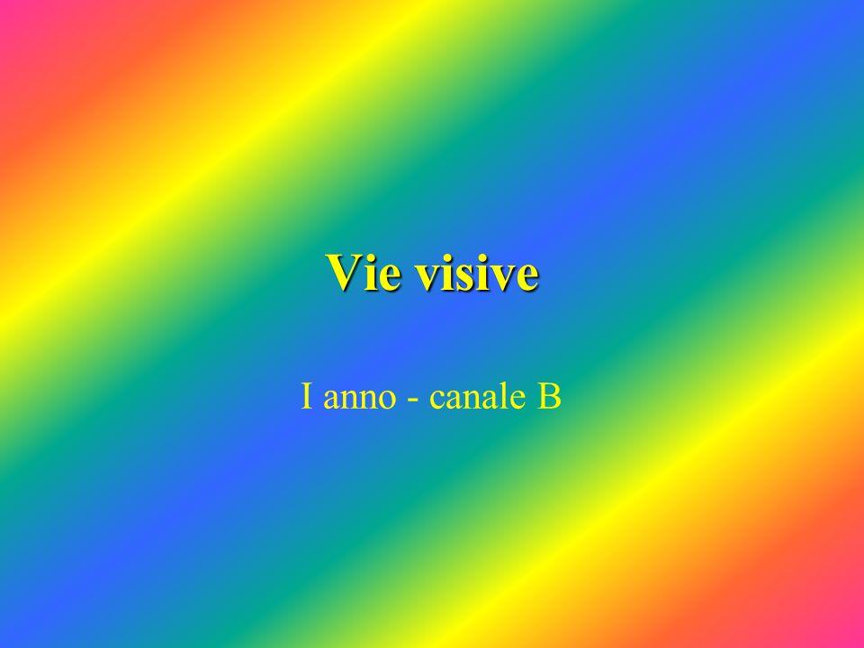 Vie visive I anno - canale B