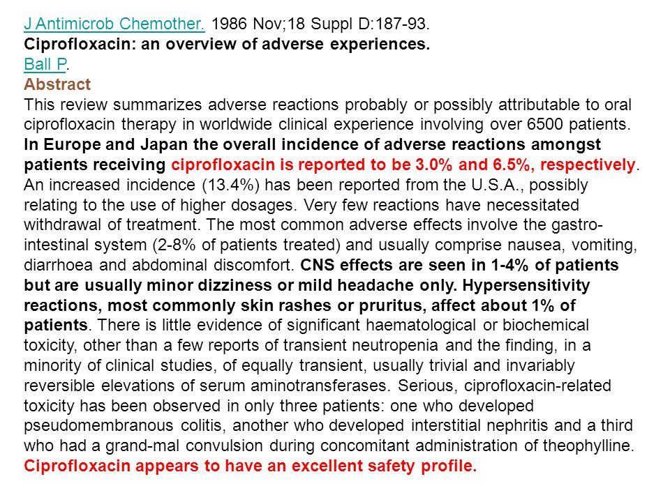 J Antimicrob Chemother. 1986 Nov;18 Suppl D:187-93.