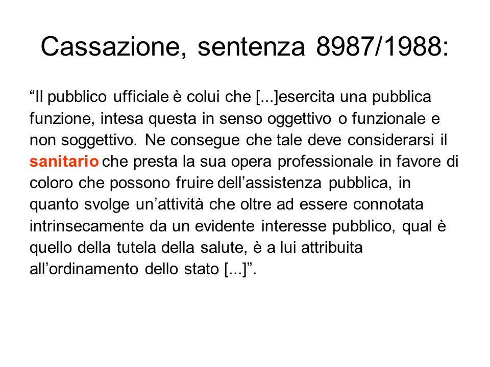 Cassazione, sentenza 8987/1988: