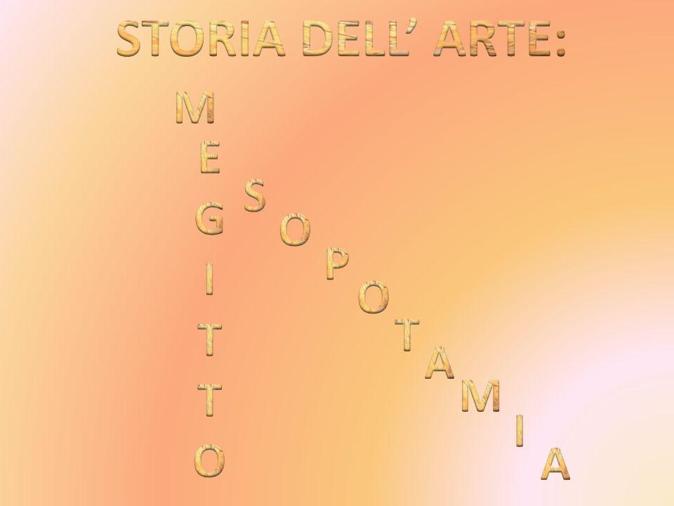 STORIA DELL' ARTE: M E G I T O S O P O T A M I A