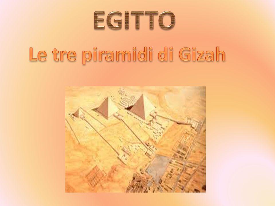 Le tre piramidi di Gizah