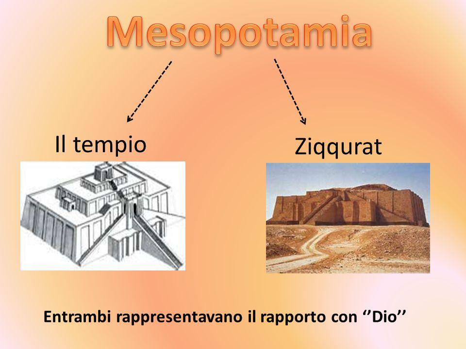 Mesopotamia Il tempio Ziqqurat