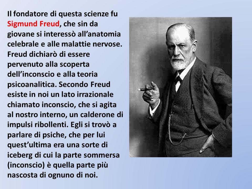Il fondatore di questa scienze fu Sigmund Freud, che sin da giovane si interessò all'anatomia celebrale e alle malattie nervose.