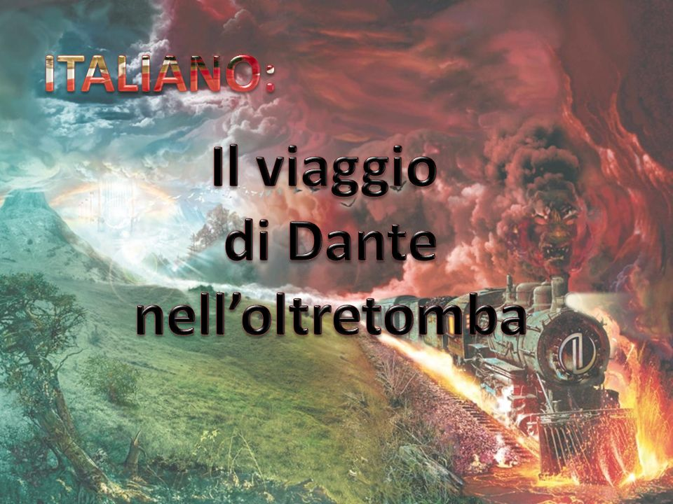 Il viaggio di Dante nell'oltretomba