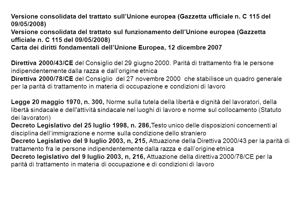 Versione consolidata del trattato sull'Unione europea (Gazzetta ufficiale n. C 115 del 09/05/2008)