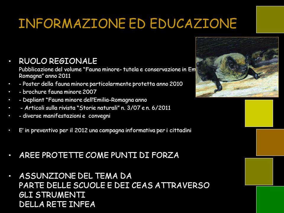 INFORMAZIONE ED EDUCAZIONE