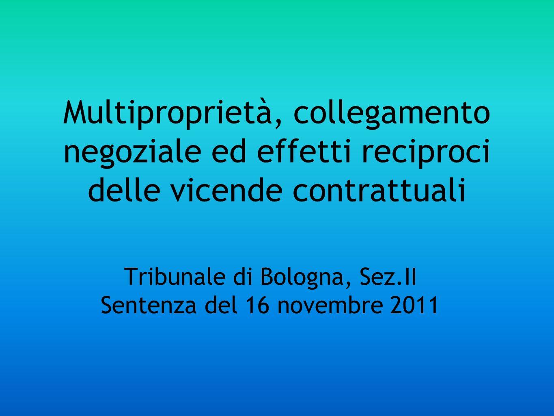 Tribunale di Bologna, Sez.II