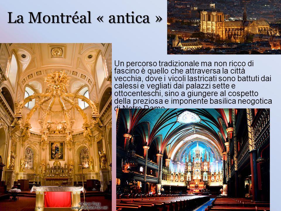 La Montréal « antica »