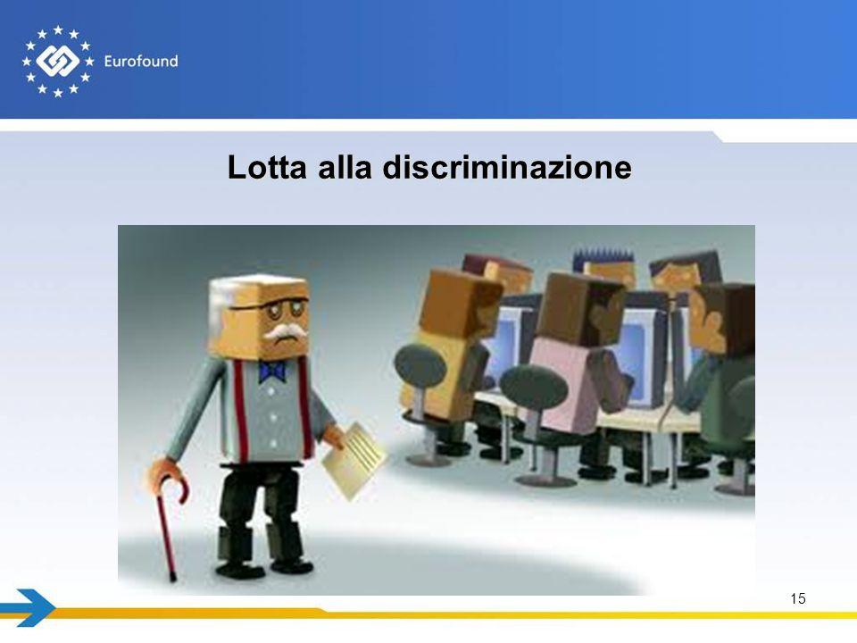 Lotta alla discriminazione