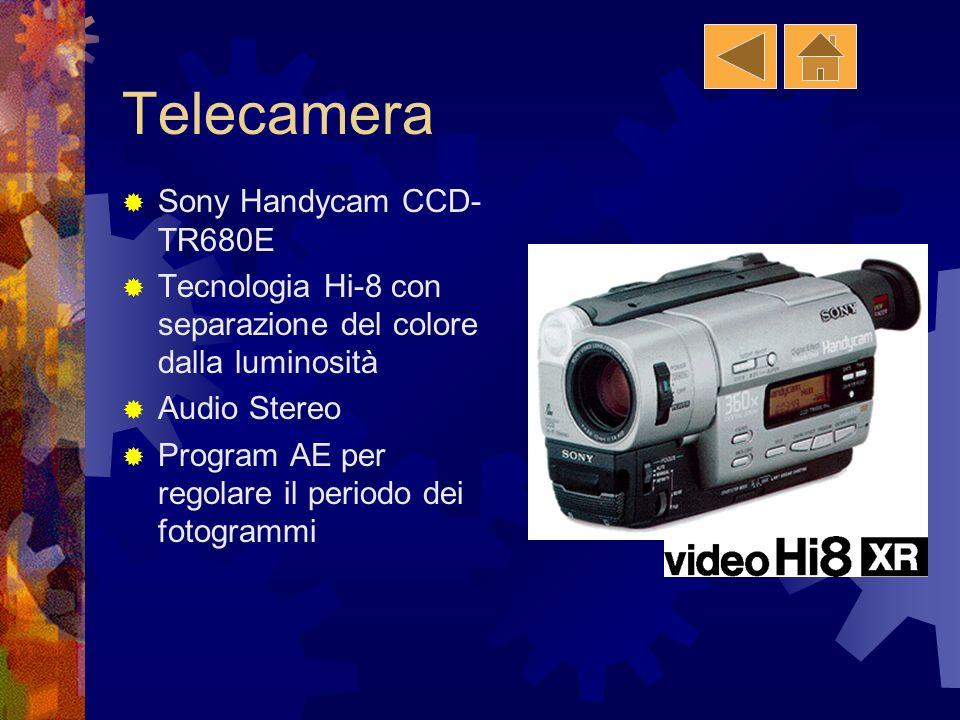 Telecamera Sony Handycam CCD-TR680E
