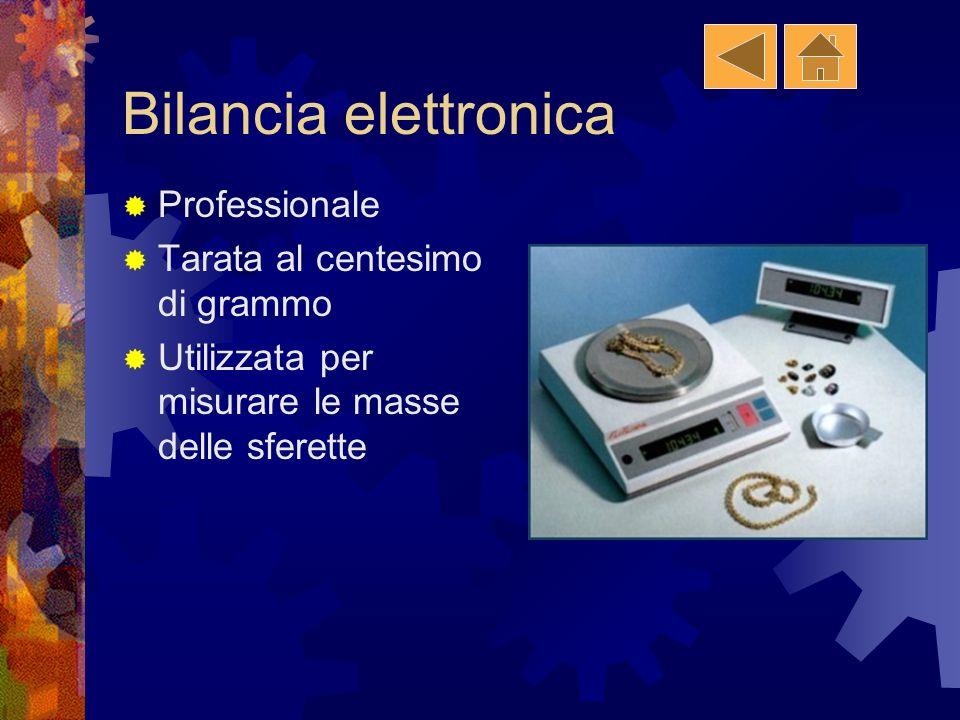 Bilancia elettronica Professionale Tarata al centesimo di grammo