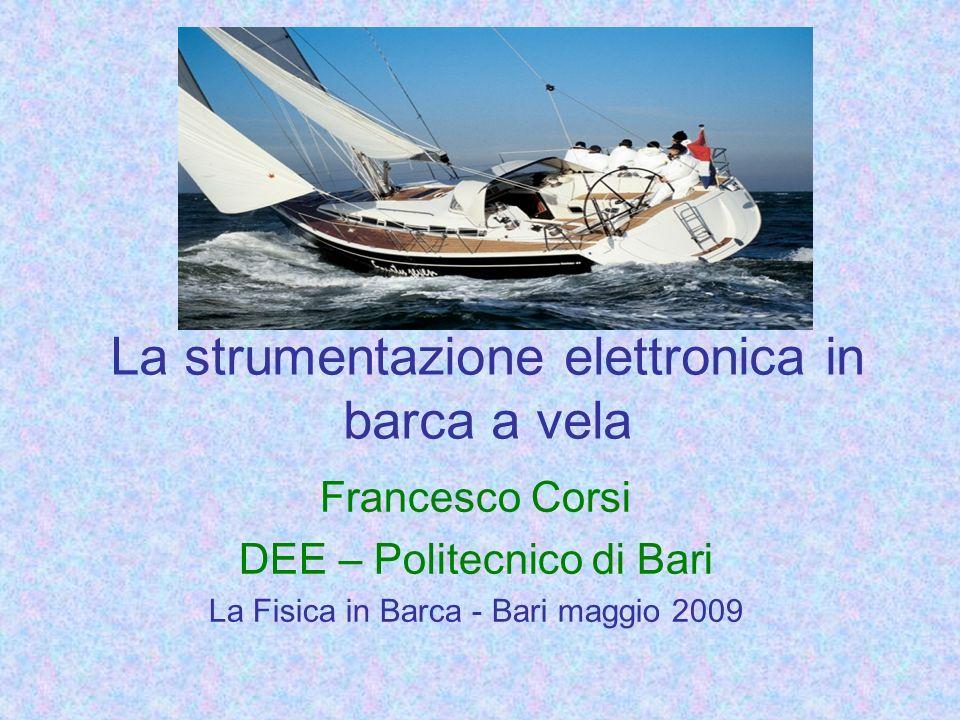 La strumentazione elettronica in barca a vela