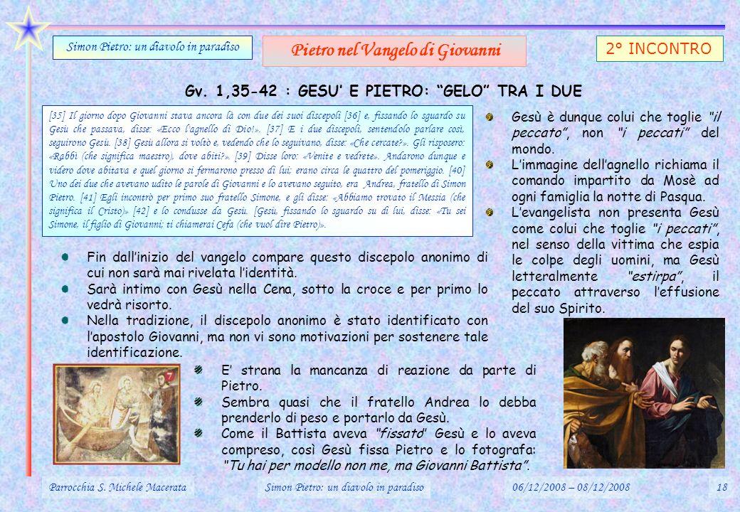 Pietro nel Vangelo di Giovanni